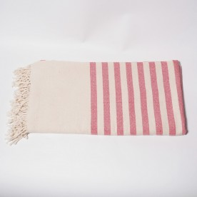 Cotton Fouta (towel) - Red