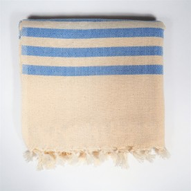 Navy blue cotton fouta